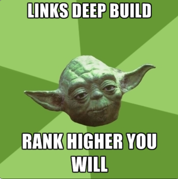 Rank higher in Google with external backlinks to all pages